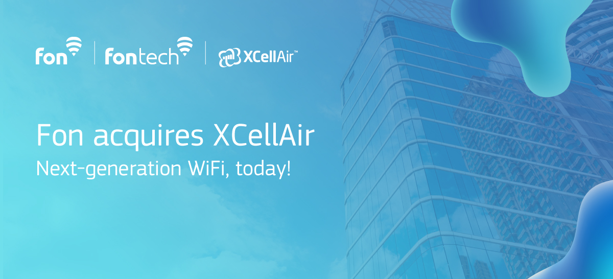 Breaking news: We've acquired XCellAir!