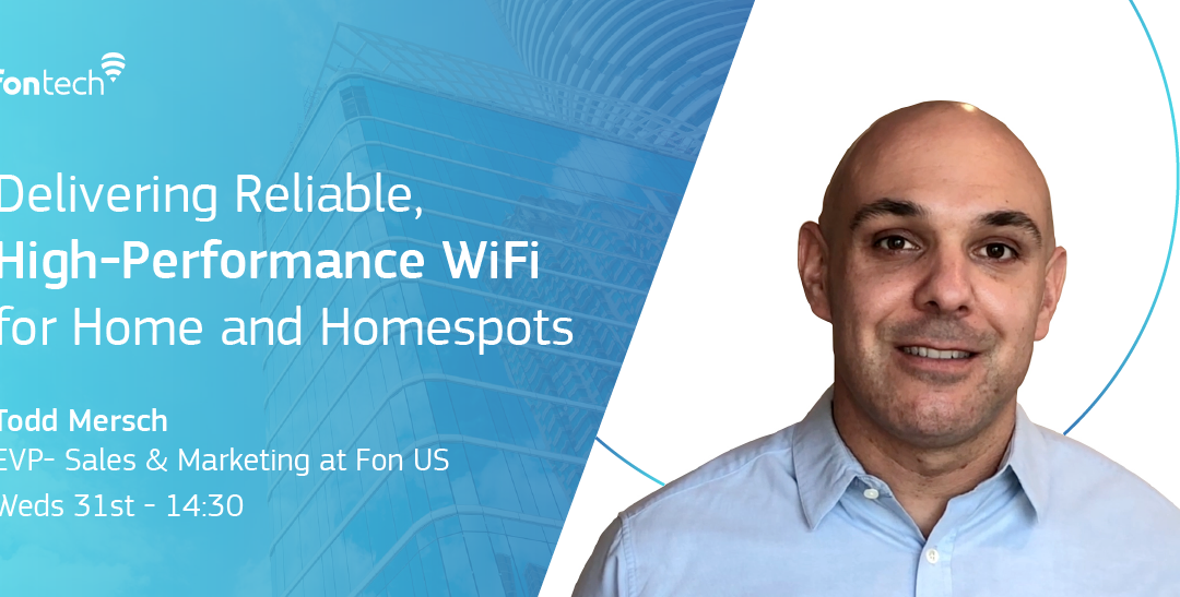 Talking Home WiFi at #WGCLON, October 29 – November 1!