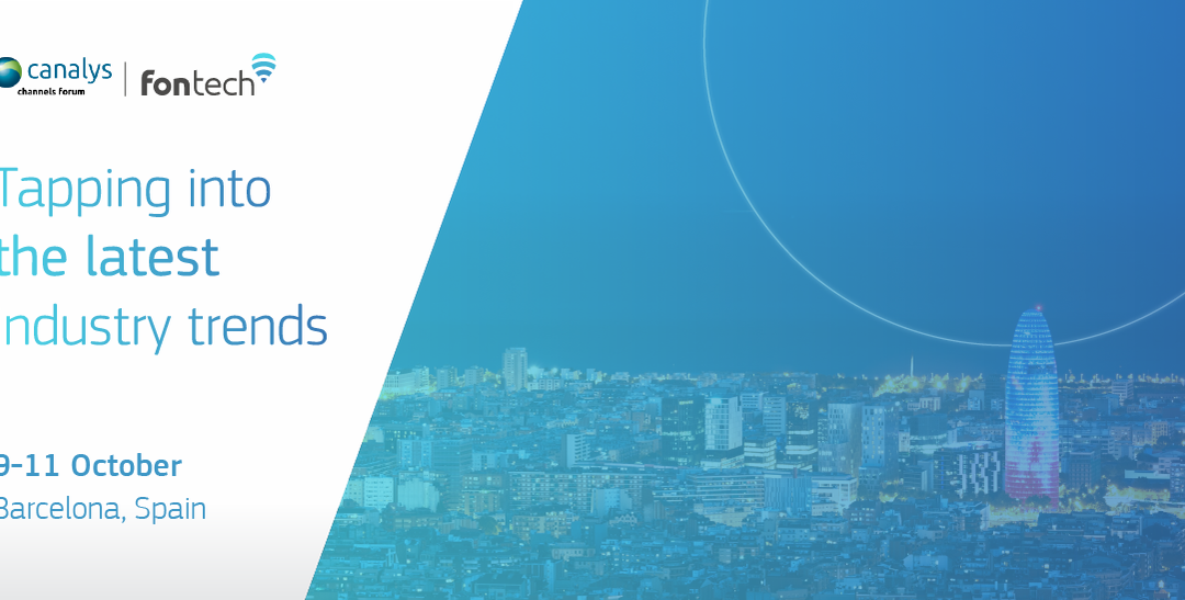 Get ready Barcelona, we're headed to the Canalys Channels EMEA Forum!